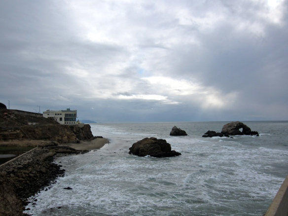 Sutro Bath ruins, Cliff House